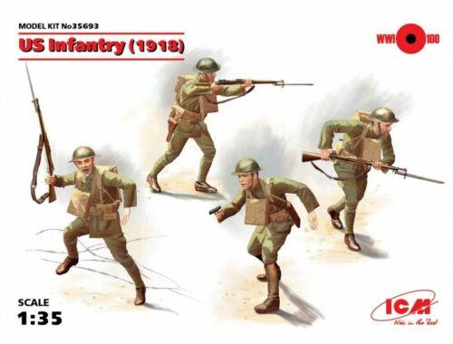 ICM US Infantry 1917 1:35 (35693)