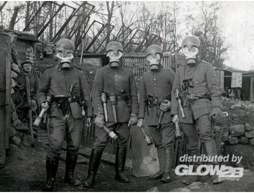 ICM German Infantry in Gasmasks 1917 1:35 (35695)