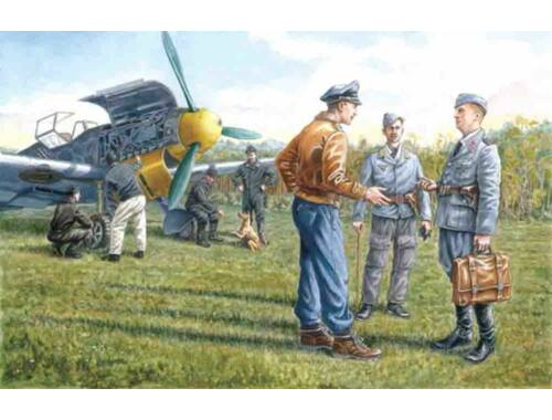 ICM Ground staff of the German Air Force 1939-44 1:48 (48085)