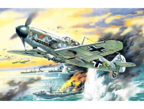 ICM Messerschmitt Bf 109F-4 / B 1:48 (48104)