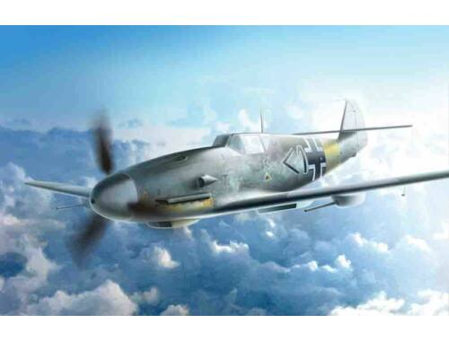 ICM Messerschmitt Bf 109F-4 / R6 WWII German Fighter 1:48 (48107)