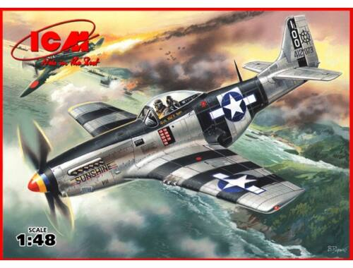 ICM Mustang P-51K, WWII American Fighter 1:48 (48154)