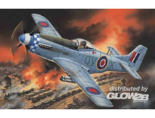 ICM Mustang Mk.IVA, WWII RAF Fighter 1:48 (48155)