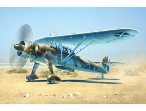 ICM Hs 126A-1 with bomb rack 1:48 (48213)