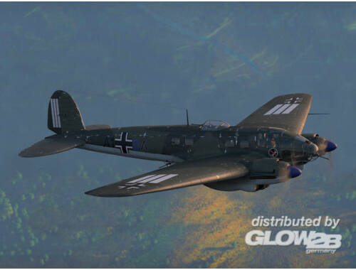 ICM He 111H-3 WWII German bomber 1:48 (48261)