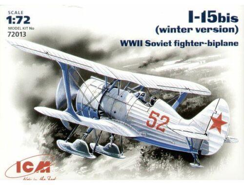 ICM Polikarpov I-15 to winter version 1:72 (72013)