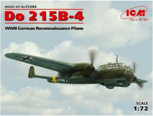 ICM Do 215B-4 WWII Reconnaissance Plane 1:72 (72305)