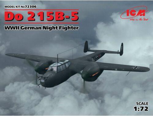 ICM Do 215B-5 WWII German Nightfighter 1:72 (72306)