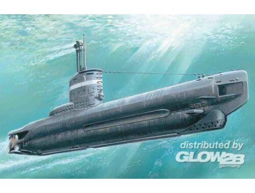 ICM U-Boat Type XXIII, WWII German Submarine 1:144 (S004)