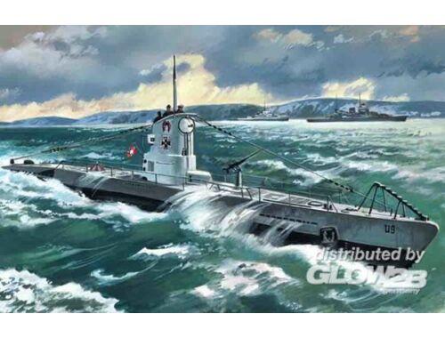 ICM U-Boat Type IIB 1939 1:144 (S009)