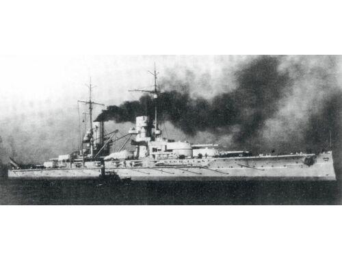 ICM Großer Kurfürst WWI German Battleship Full hull and waterline 1:700 (S015)