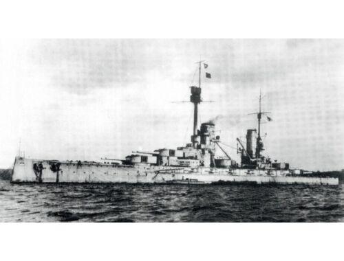 ICM Kronprinz WWI German Battleship Full hull and waterline 1:700 (S016)
