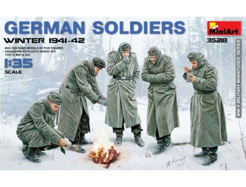 Miniart German Soldiers (Winter 1941-42) 1:35 (35218)