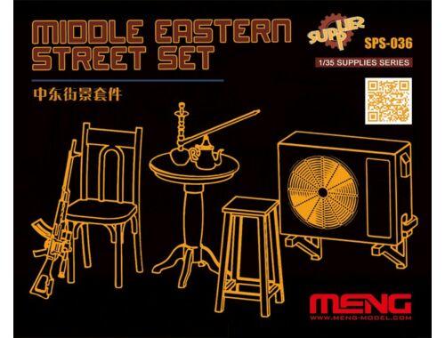 Meng Middle Eastern Street Set (Resin) 1:35 (SPS-036)