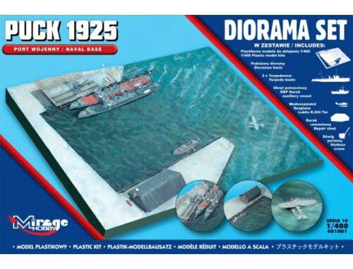 Mirage Hobby Puck 1925 Diorama Set (Naval Base) 1:144 (401001)