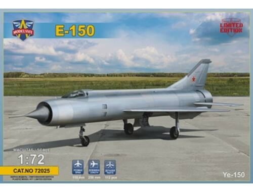 Modelsvit Ye-150 Interceptor prototype (re-released Ye-150) 1:72 (72025)