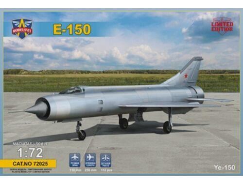 Modelsvit Ye-150 Interceptor prototype (re-released Ye-150) 1:72 (72025)
