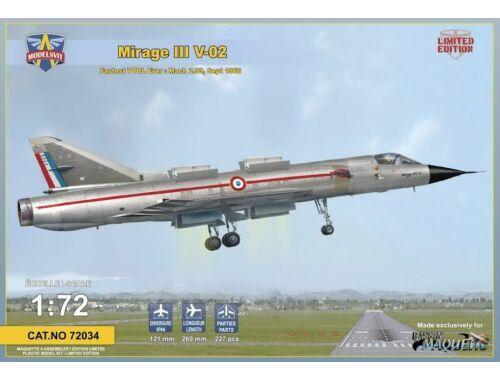 Modelsvit Mirage III V-02 Fastest VTOLever Limited 1:72 (72034)