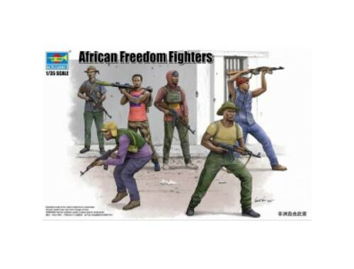 Trumpeter African Freedom Fighters 1:35 (438)