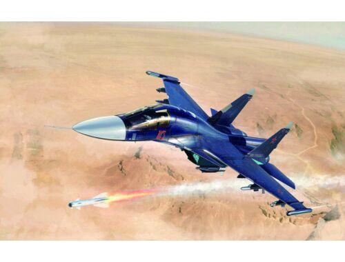 Trumpeter Russian Su-34 fullback fighter bomber 1:72 (1652)
