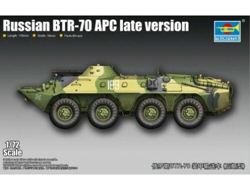 Trumpeter Russian BTR-70 APC late version 1:72 (07138)
