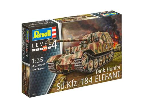 Revell Sd.Kfz. 184 Tank Hunter Elefant 1:35 (3254)