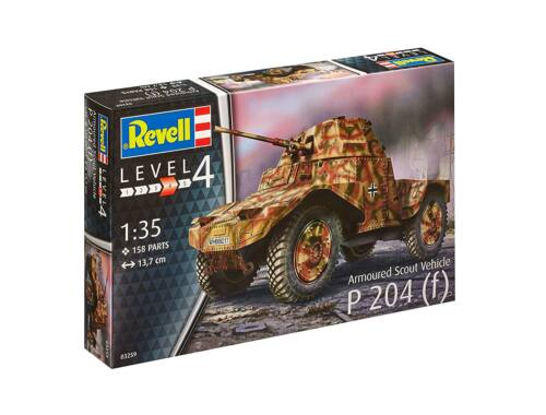 Revell Armoured Scout Vehicle P204 1:35 (3259)