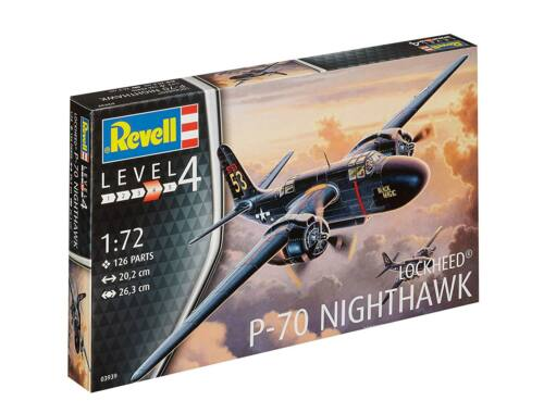 Revell P-70 Nighthawk 1:72 (3939)