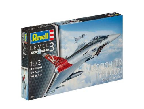 Revell Eurofighter Typhoon / Batch 3 1:72 (3952)