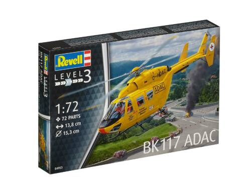Revell BK-117 ADAC 1:72 (4953)