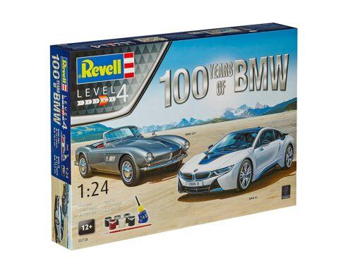 Revell Gift Set 100 Year BMW 1:24 (5738)