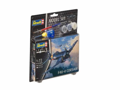 Revell Model Set F4U-4 Corsair 1:72 (63955)
