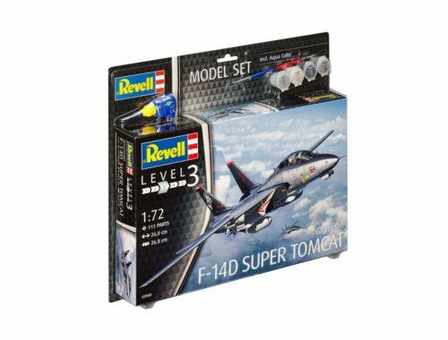 Revell Model Set F-14D Super Tomcat 1:72 (63960)