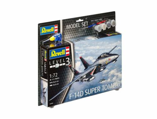 Revell Model Set F-14D Super Tomcat 1:72 (63960)