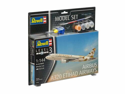 Revell Model Set Airbus A320 Etihad 1:144 (63968)