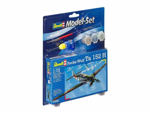 Revell Model Set Focke Wulf Ta 152 H 1:72 (63981)
