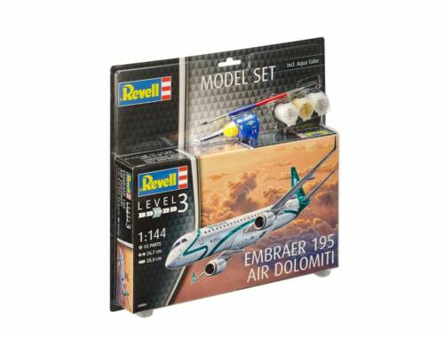 Revell Model Set Embraer ERJ 195 1:144 (64884)