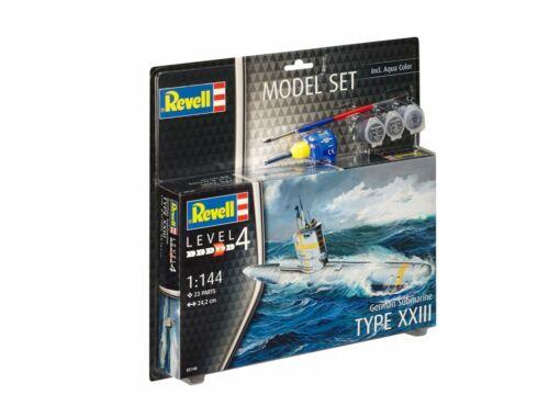 Revell Model Set German Submarine 1:144 (65140)