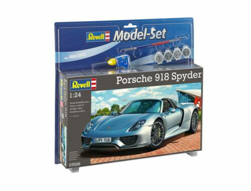 Revell Model Set Porsche 918 Spyder 1:24 (67026)