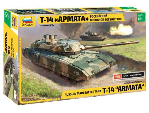 Zvezda Russian Modern Tank T-14 1:35 (3670)