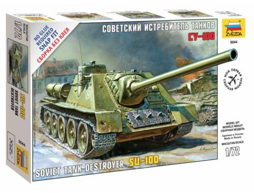 Zvezda Soviet Self-propelled Gun SU-100 1:72 (5044)