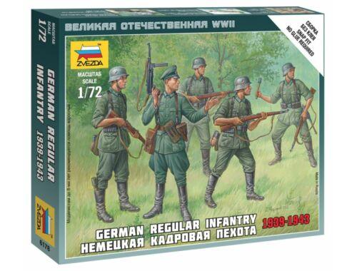 Zvezda German Regular Infantry 1939-43 1:72 (6178)