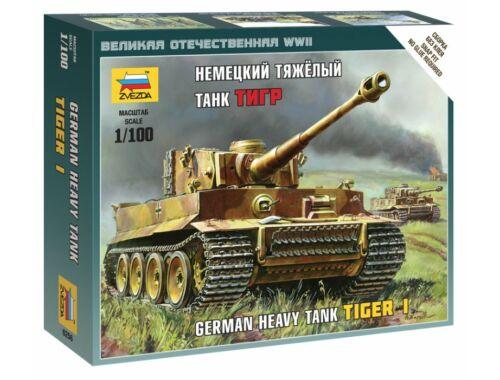 Zvezda Tiger I 1:100 (6256)