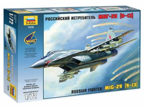Zvezda MiG-29C (9-13) Airlanes 1:72 (7278)
