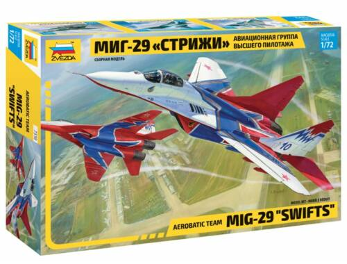 Zvezda MIG-29 Swifts Aerobatic Team 1:72 (7310)