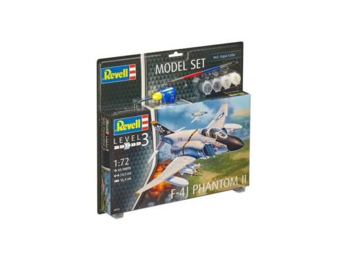 Revell Model Set F-4J Phantom II 1:72 (63941)