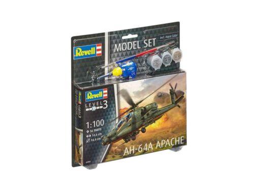 Revell Model Set AH-64A Apache 1:100 (64985)