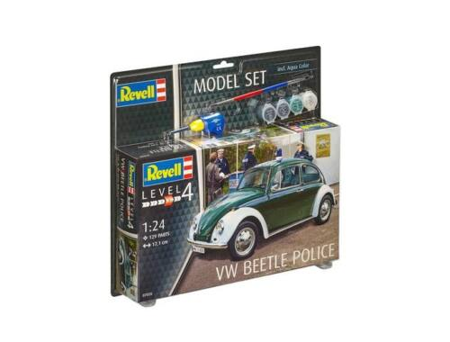 Revell Model Set VW Beetle Police 1:24 (67035)