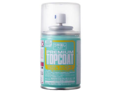 Mr.Hobby Mr.Premium Top Coat Flat Spray B-603