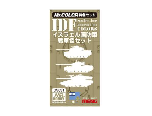 Mr.Hobby IDF AFD Color Set CS-631